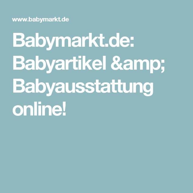Babymarkt.de: Babyartikel & Babyausstattung online!