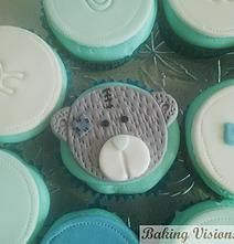 Tatty Teddy Cupcake Topper - Baking Visions