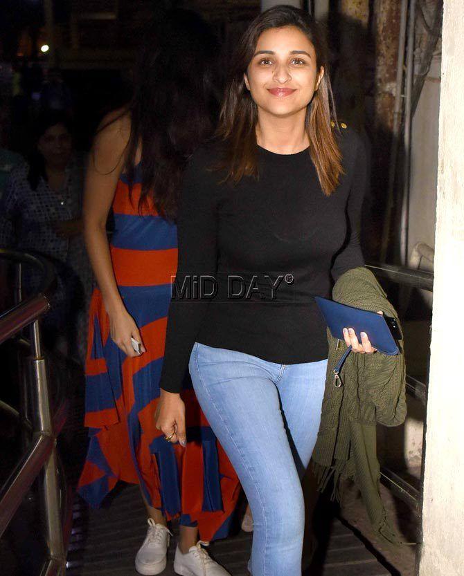 Photos: Katrina Kaif, Parineeti Chopra, Shilpa Shetty's movie outing in Juhu