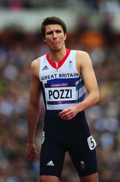 Andy Pozzi - Athletics. 110m hurdles.
