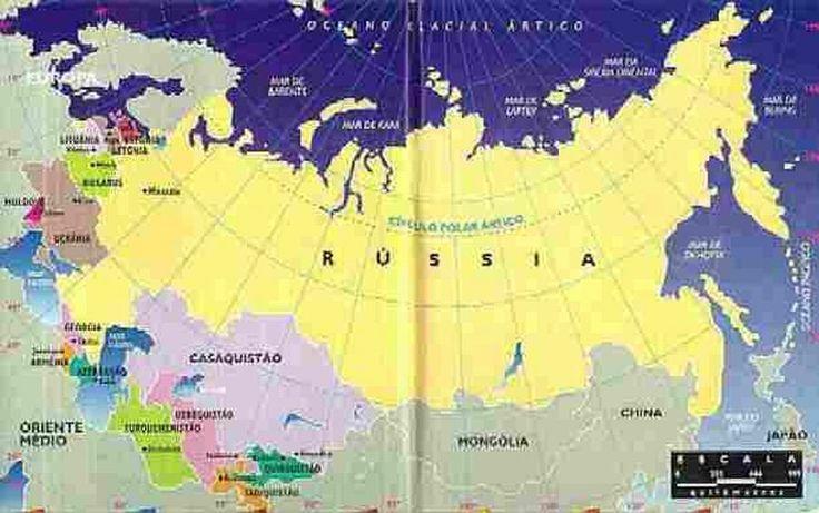 Mapa URSS