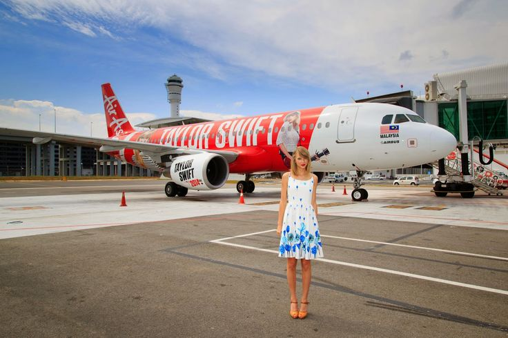 Sugoi Days: Taylor Swift - AirAsia Merchandise for the Fans