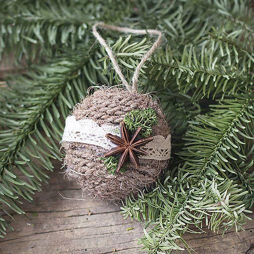KvetinovyObchodik / Vianočné gule s čipkou