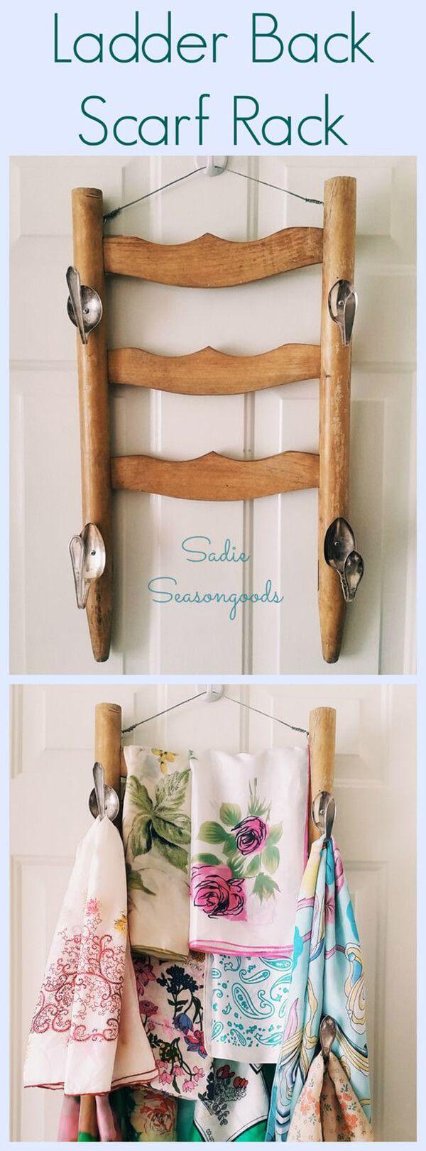 Best 25+ Scarf rack ideas on Pinterest   Belt storage, DIY ...