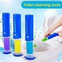 Wish | Toliet clean cylinder magic gel easy clean for wc sweet atmosphere bean gels toilet