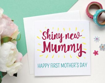 Mother's day card // owl greeting card // valentines card