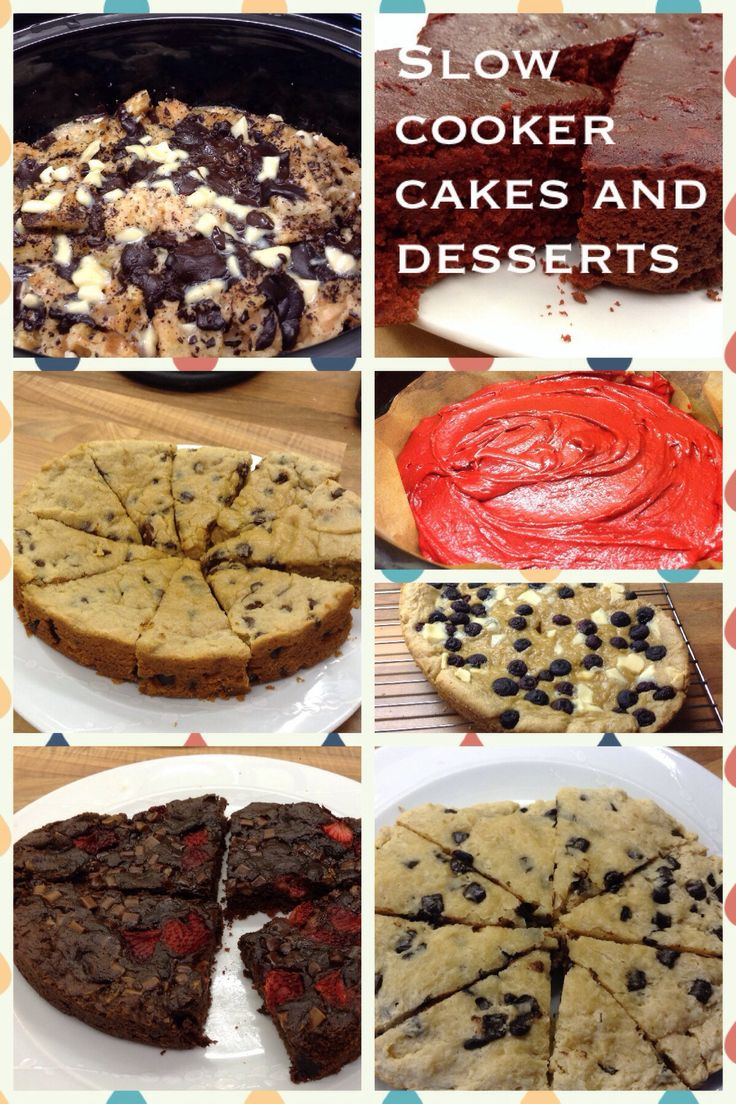 Baking and making puddings in your slow cooker