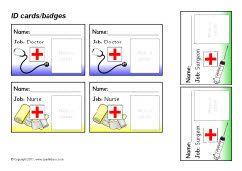 Hospital role-play pack (SB220) - SparkleBox