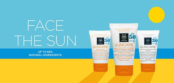 #APIVITA #SUNCARE offers #sunscreen protection with the most #natural way & #innovation applied in practice: because it is in our nature! Read more at www.apivita.com