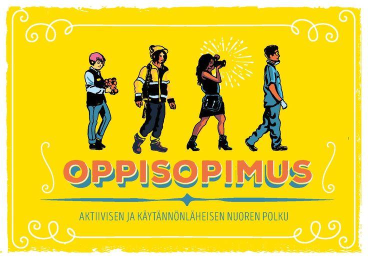OPPISOPIMUS –materiaalia http://www.opetin.fi/materiaalit/oppisopimus-materiaalia-tunneille/ #oppisopimus #koulutus