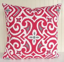 """Fuschia Pillow COVER Throw Pillow 18"""" Toss Pillow Zipper Closure Southwestern"""