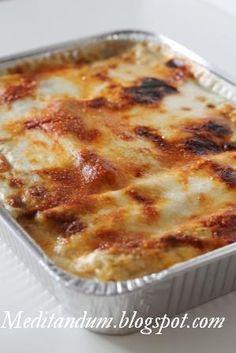 Cannelloni with ricotta and spinach - Cannelloni di ricotta  e spinaci - Meditandum