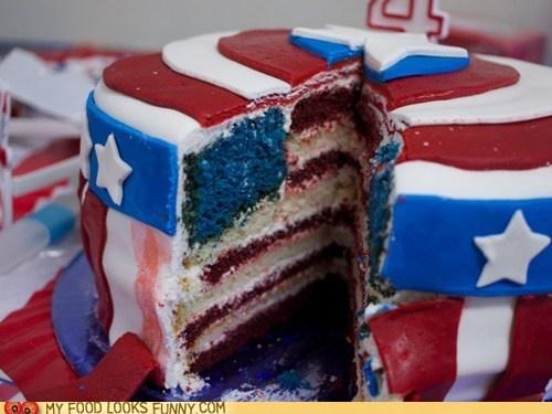 Captain America cake!: Captain America Cakes, Fourth Of July, Interiors, Captain America Party, American Flags Cakes, 4Th Of July, Captain America Birthday, Cakes Idea, Birthday Cakes