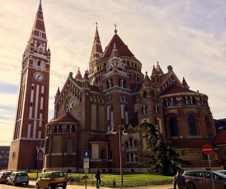 Dom church. Szeged. Hungary.