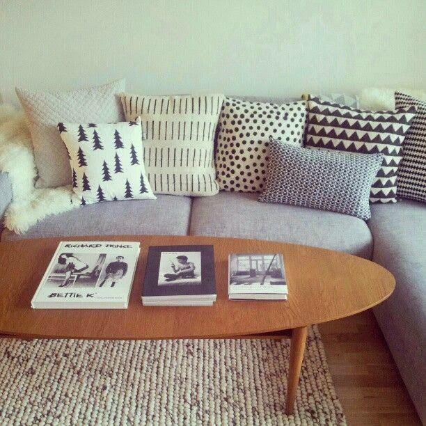 scandinavian cushions sofa - Google Search