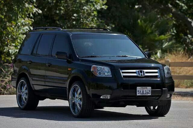 2008 Honda Pilot Exl 4wd On 24'S That's So Awesome ...