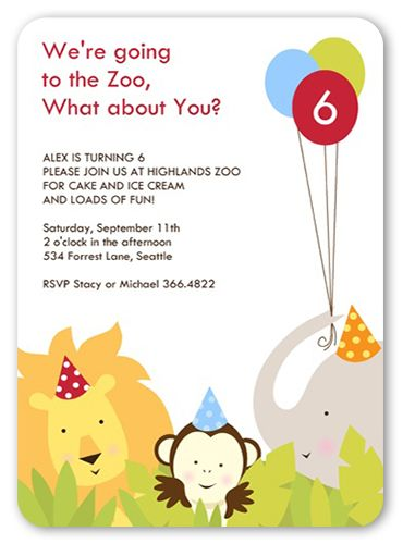 29 best Zoo Birthday party images on Pinterest Zoo birthday