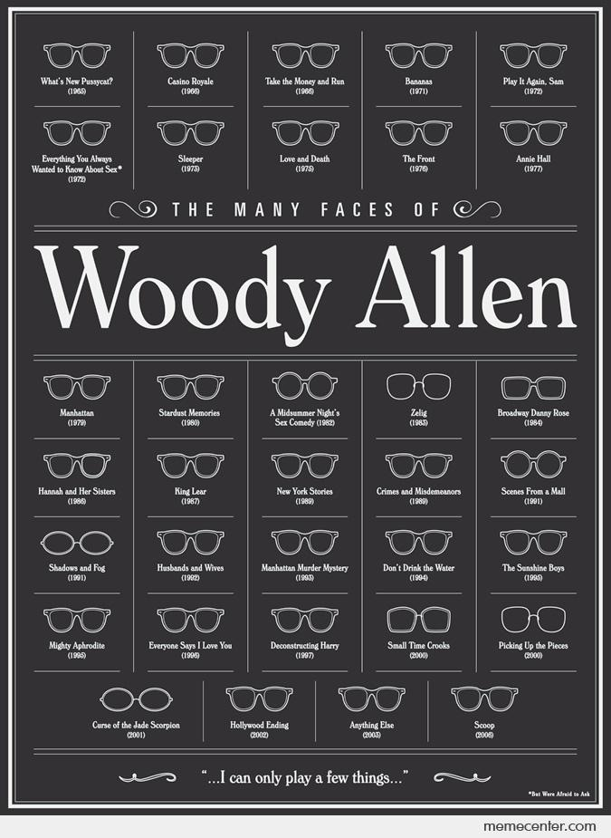 Woody Allen's Frames.  Woody is my muse.