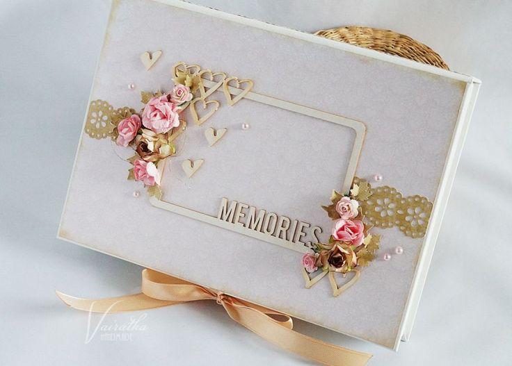 Pudełko na zdjęcia – Pudełka ślubne - kolor: kość słoniowa, kawowy, lilla, wymiary: 17,5*24,5cm głębokość 3cm – Artillo