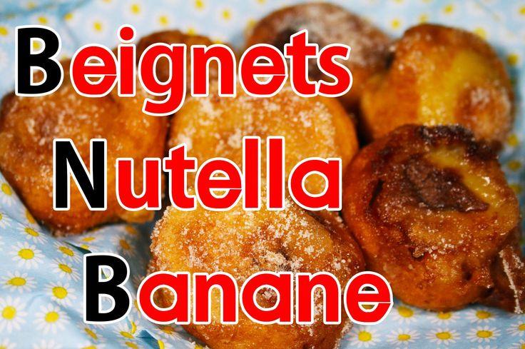 Beignets au Nutella banane