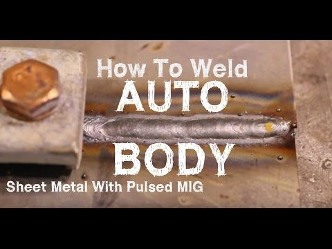 Pulse MIG Welding THIN Steel & Aluminum With the HTP ProPulse 200! - YouTube
