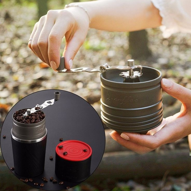 4 In 1 Portable Camping Travel Coffee Grinder  #gifts #floorart #picotagio