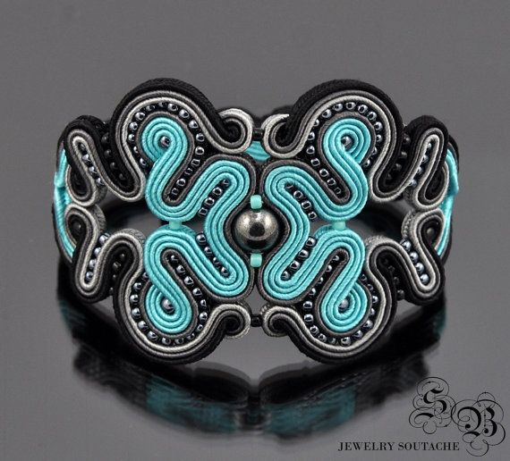 Soutache BraceletSoutache by SBjewerlySoutache on Etsy