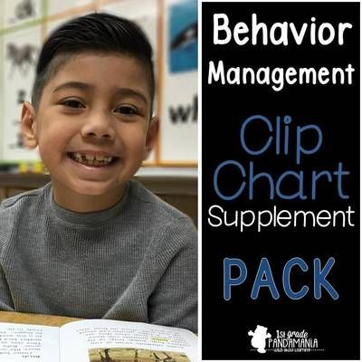 Behavior Management Supplemental Packet for Clip Chart from 1st Grade Pandamania on TeachersNotebook.com (61 pages)