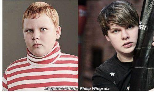 Philip Wiegratz (Augustus Gloop) -- Charlie and the Chocolate Factory (2005)