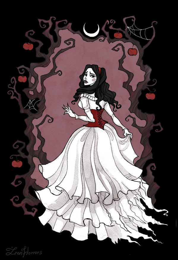 With a smile and a song, cecilia37:   Snow White by IrenHorrors