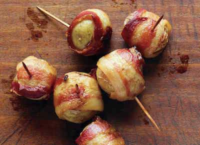 """""""Best Appetizer Recipes in the Entire Universe"""" --70 of them!! From savory to sweet to everything in between.  (These bacon-wrapped fingerling potatoes sound good to me.)"""