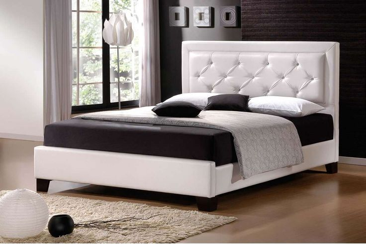 Admirable Black And White Bedroom Focus On Modern King Size Bedding Also Torchiere Floor Lamp Plus Shag Rug