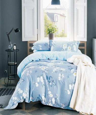 Light BLue Eve Comforter Set #zulily #zulilyfinds