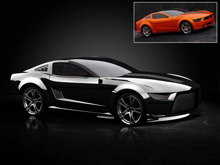 picture of Ford Mustang Concept stealthy black