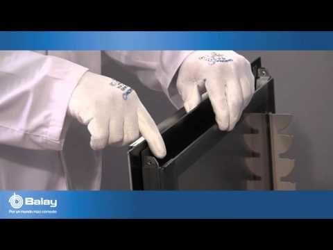 ¿Se pueden limpiar los cristales interiores de las puertas del horno Balay? - YouTube