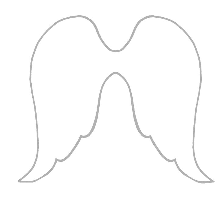 Angel-wings pattern