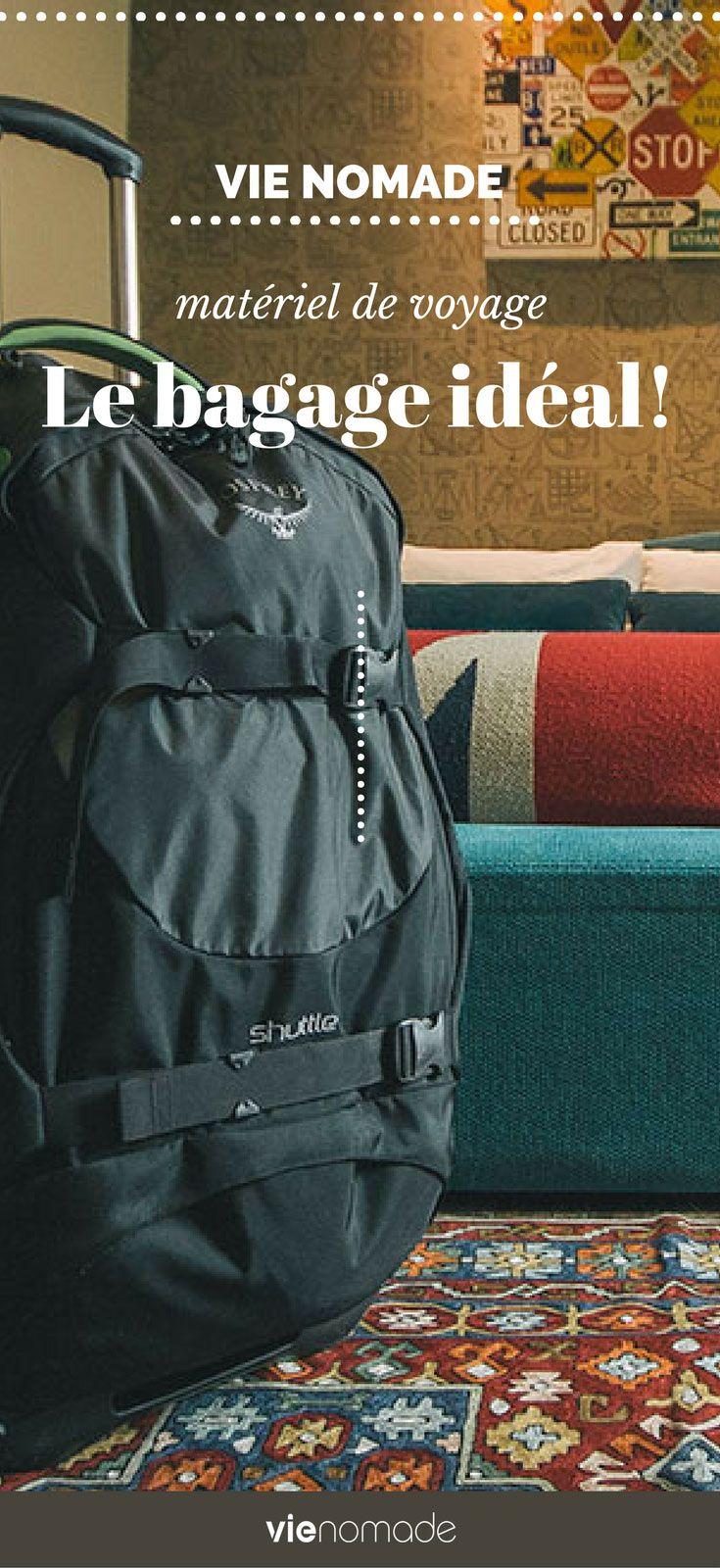 Meilleur bagage pour la vie nomade et les longs voyages
