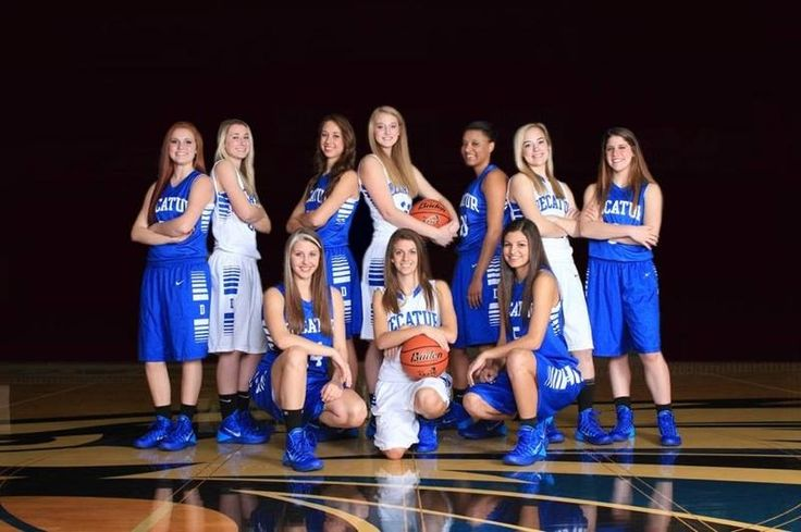photo ideas for basketball team pictures | Banner - Decatur Lady Eagles Basketball Team