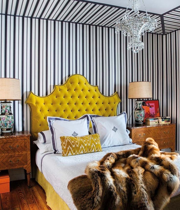 Elle Decoration España recently published the stylish Madrid apartment of Spanish fashion designer Jorge Vazquez. Decorated by the talented Amaro Sanchez de Moya, the colorful home is an eclectic mix of antiques and contemporary pieces. I'm especially in love with the bedroom above—canary yellow is underrated, if you ask me. Below, explore more of the home …