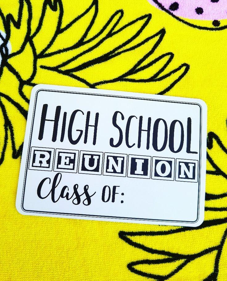 High school reunion!! Milestones for your 30s! Celebrate life!