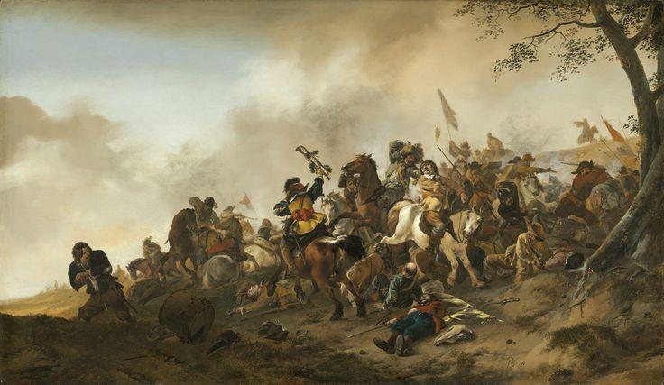 Philips Wouwerman, 'Battle Scene,' c. 1645/1646, National Gallery of Art, Washington D.C.