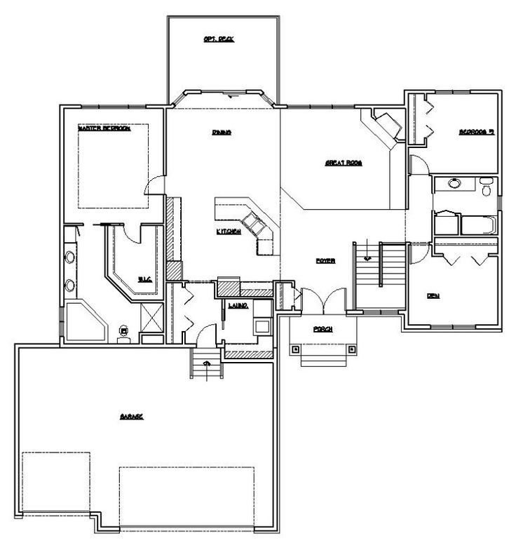 Best 20 rambler house plans ideas on pinterest rambler for Rambler house plans with basement