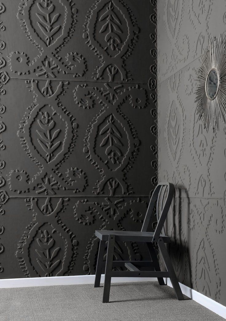 OH. MY. GOD.  There aren't words for how cool this is.  Mad About ... Anaglypta Wallpaper - Mad About The House