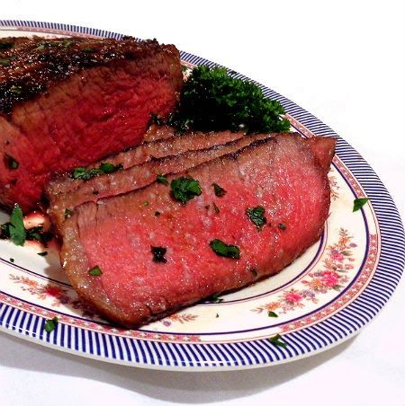 One Perfect Bite: Marinated Top-Sirloin Steak