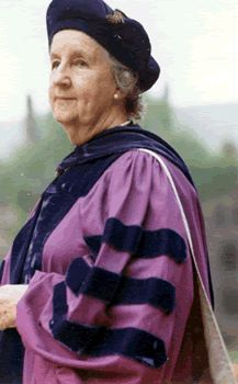 Virginia Henderson in her Toga