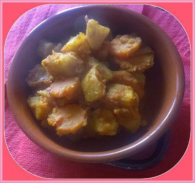 No gluten! Yes vegan!: Stufato di patate americane e carote
