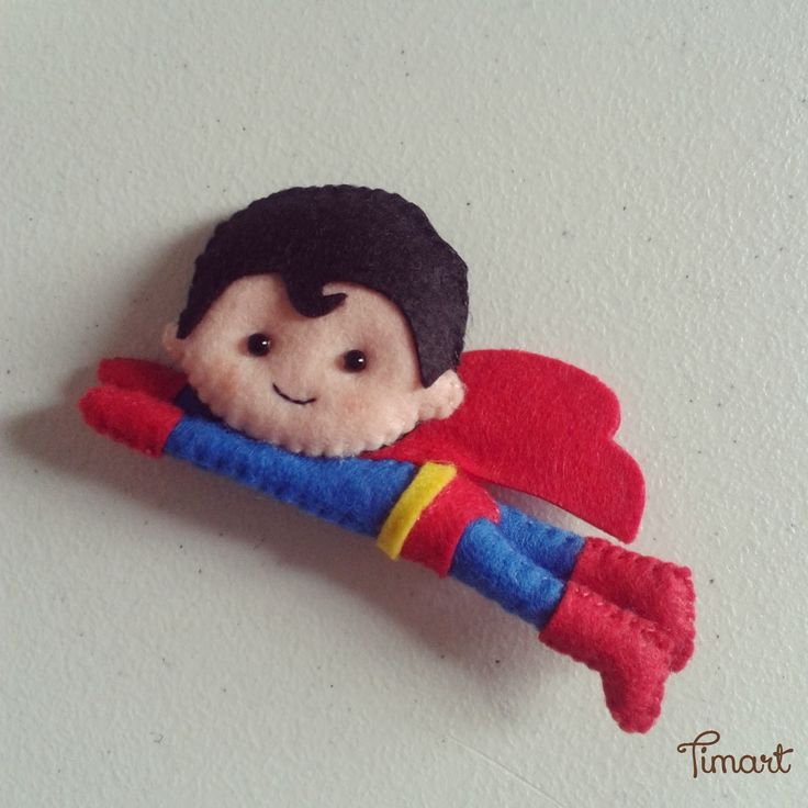 Super Heróis com moldes e passo a passo