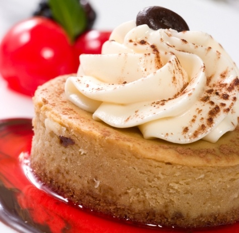 Cappuccino Cheesecake Recipe | Cheesecake Recipes | Pinterest