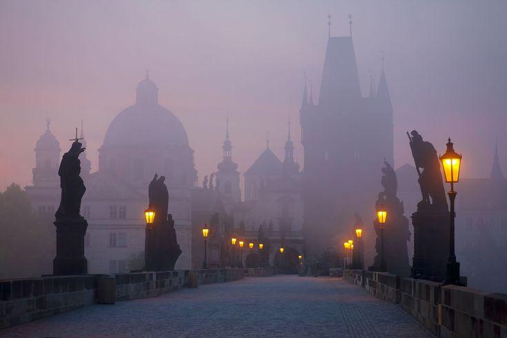 Fog in Prague
