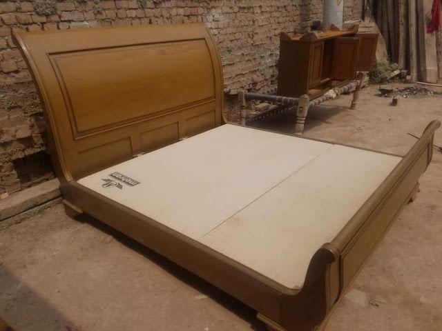 Peshawar Furniture Showroom Slay Bed Design Picture 2018